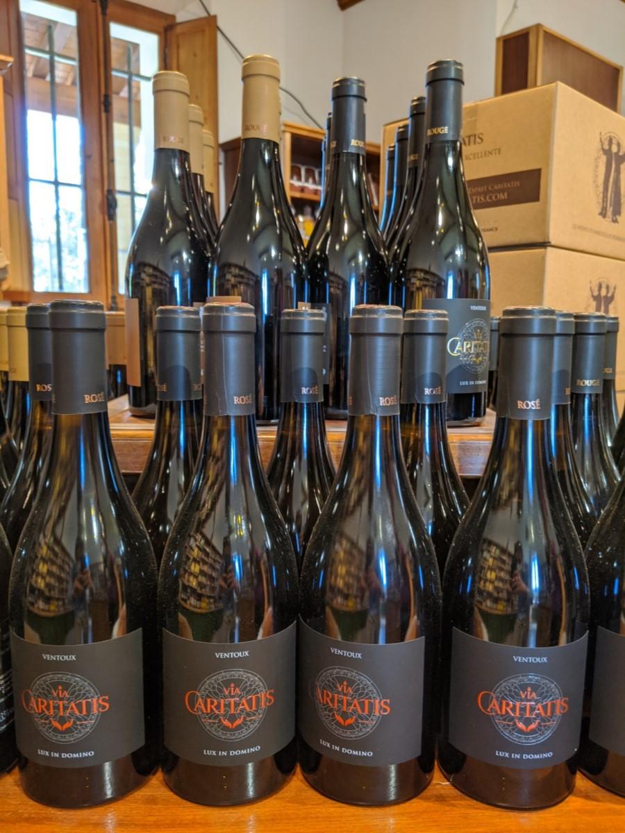 Vin via Caritatis - vin monastique du Ventoux