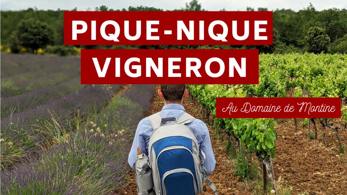 Pique-Nique Vigneron au Domaine de Montine à Grignan