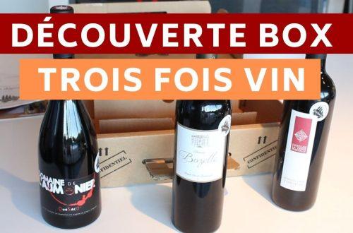 Box Trois Fois Vin - box de vin petits producteurs
