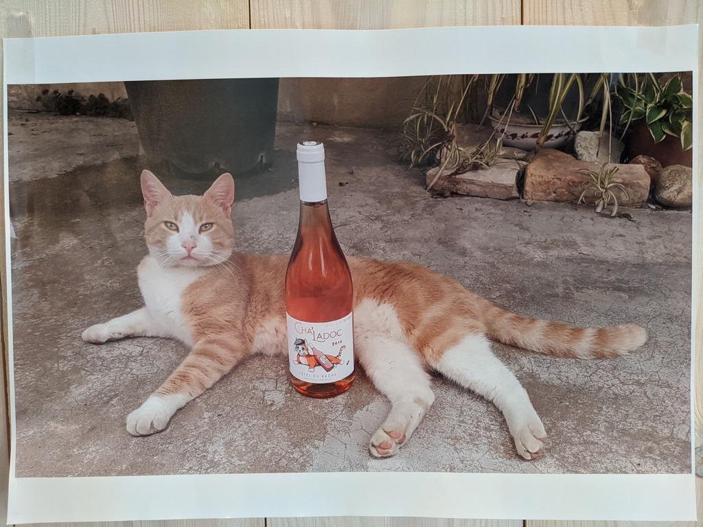 Cuvée Cha'ladoc - Vin rosé bio