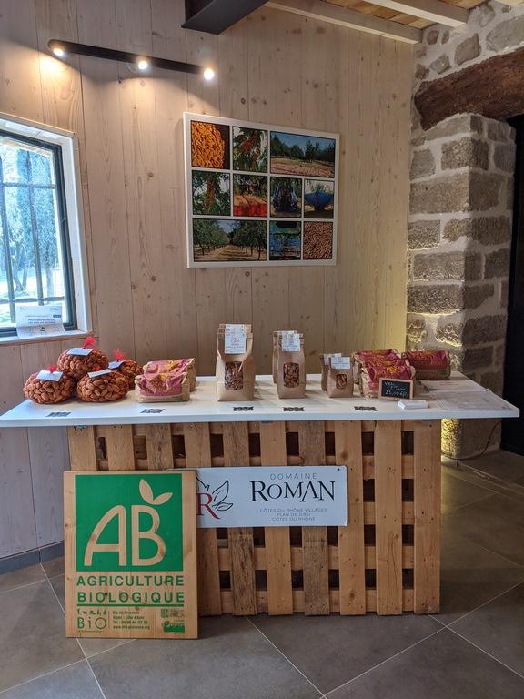 Amandes Bio à Jonquières - Domaine Roman