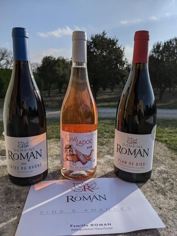 Cuvées du Domaine Roman - Côtes du Rhône Bio